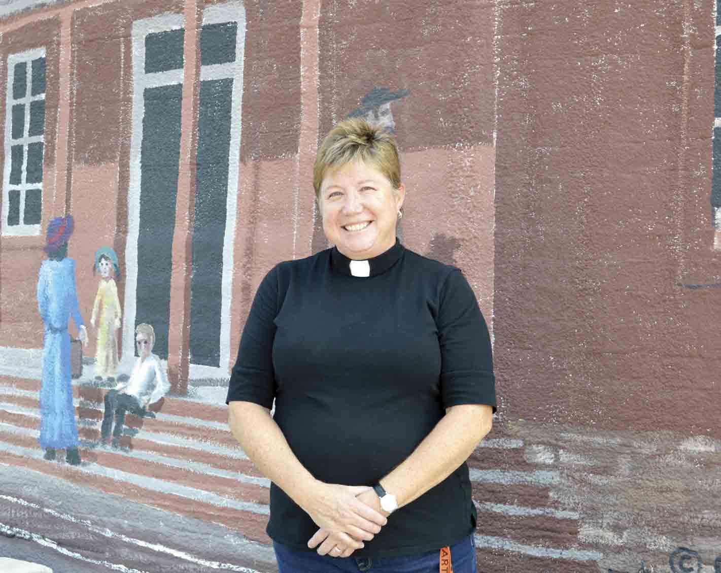 Calmar Lutheran Church recently welcomed its new pastor, Anita Neutzman, to the community. Neutzman began her new role with the local church on Aug. 1. (Zakary Kriener photo)'A perfect fit' for NeutzmanZakary KrienerNews Writerzkriener@...