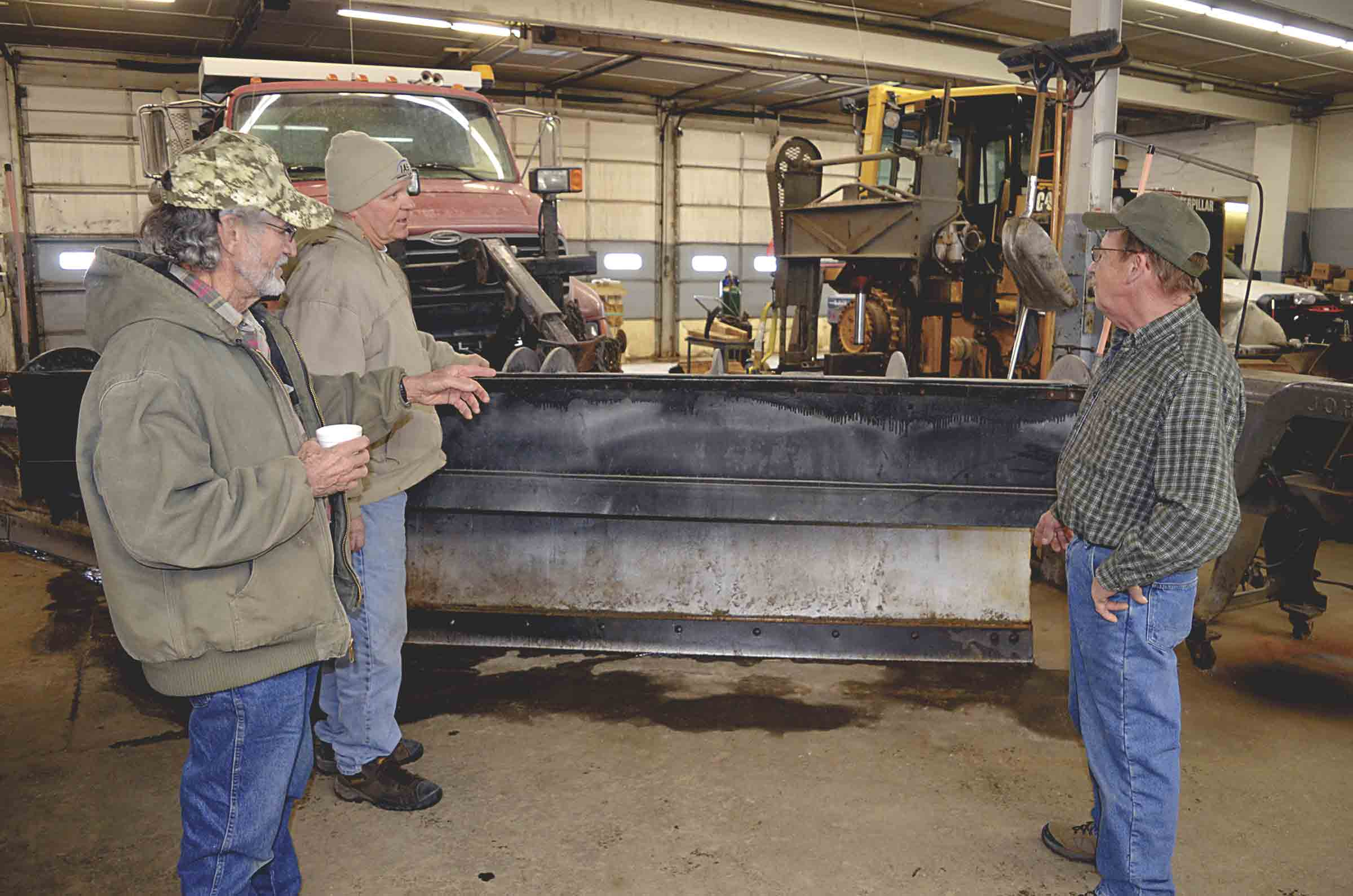 Fayette County Secondary Roads has been doing the excavating work to smooth the area for the new county shop. It will be located west of Fahr Beverage, just south of West Union. (Jack Swanson photo) 	Groundwork started on new County Shop By Jack Swanson	jswanson@...